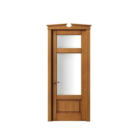 China WDMA external hardwood door Wooden doors