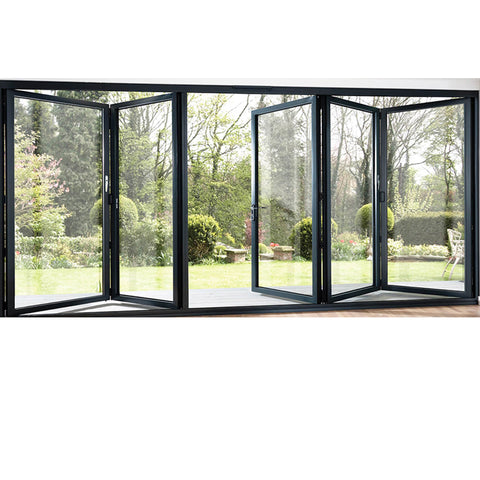 China WDMA Curved Glass Sliding Door
