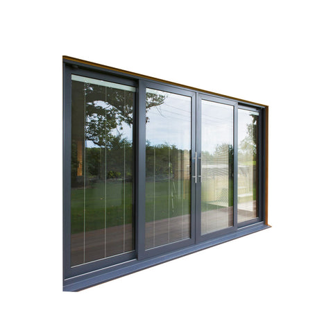 China WDMA Glass Pocket Door