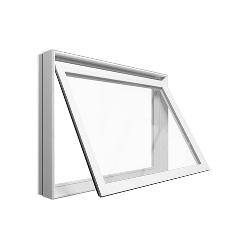 China WDMA triple aluminum awning window Aluminum awning Window