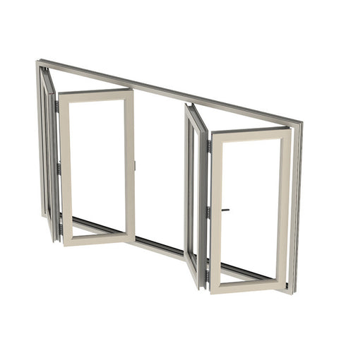 China WDMA folding aluminum window Aluminum Folding Window