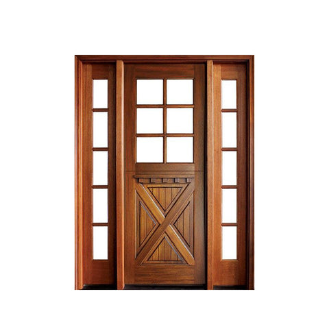 China WDMA french doors exterior Wooden doors