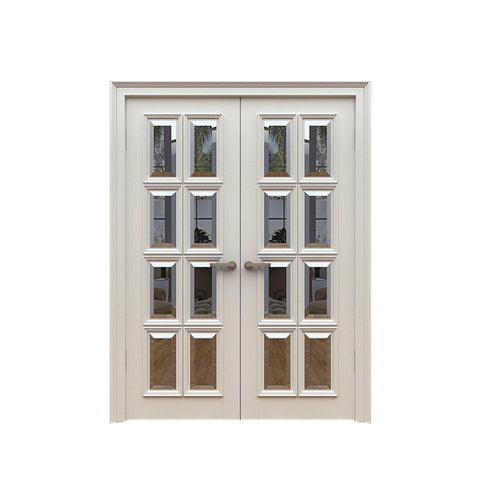 China WDMA main double door wooden Wooden doors