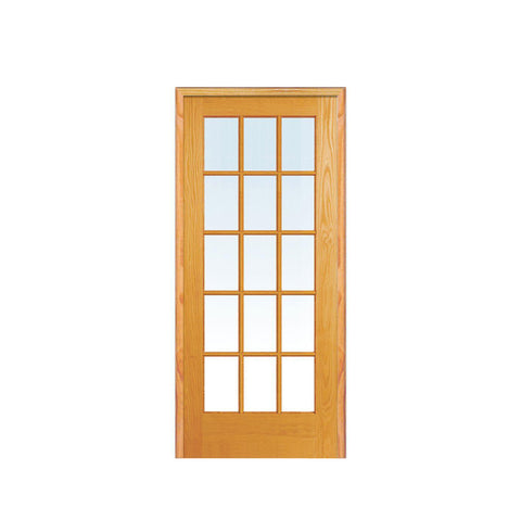 WDMA German Solid Color Designer Sunmica Shutter Folding Bifold Wooden Accordion Louvre Door Models Room Wooden