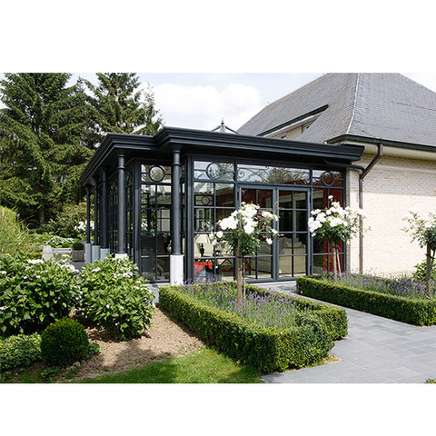 China WDMA glass container house Aluminum Sunroom