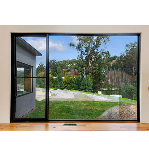 WDMA Glider Slider Sliding Frameless Window Sashless Window