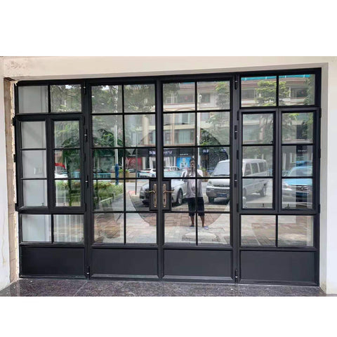 China WDMA External Bi Fold Aluminium Doors