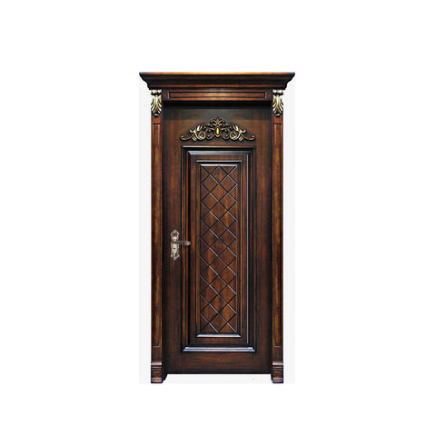 China WDMA wooden window door models Wooden doors
