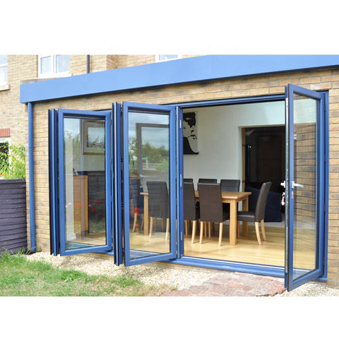 China WDMA bi-fold door Aluminum Folding Doors
