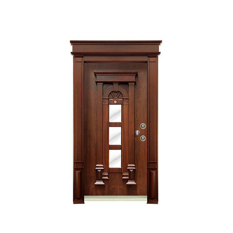 China WDMA single wooden door design Wooden doors