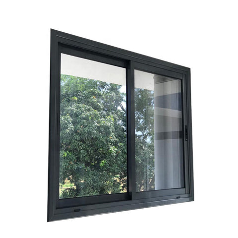 WDMA Horizontal Pattern Three Panel Triple Pane Interior Metal Office Glass Sliding Window Design