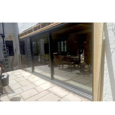 China WDMA Glass Sliding Door Frameless