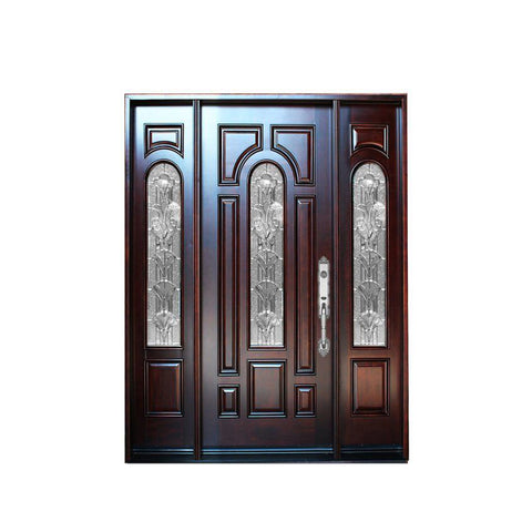 WDMA Indonesia Safety Wooden Door Design Manufactured by China