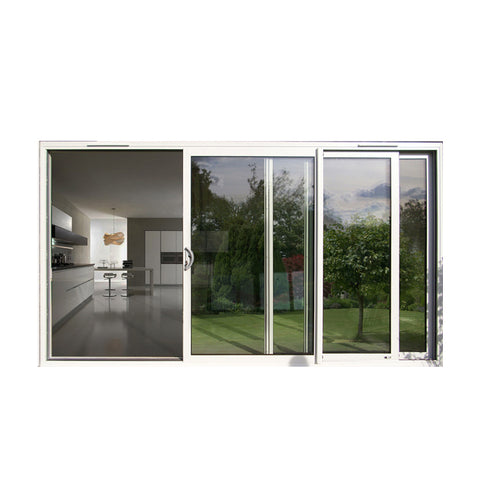 China WDMA bedroom sliding door Aluminum Sliding Doors