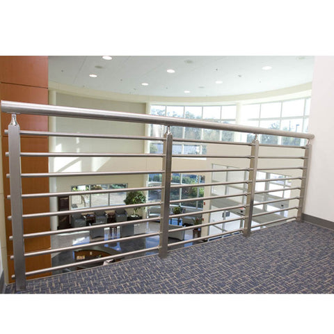 China WDMA interior glass railing system Balustrades Handrails