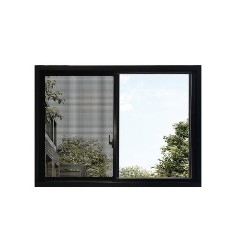 WDMA Kenya Aluminum Profile Sliding Glass Window And Door With Mosquito Screen