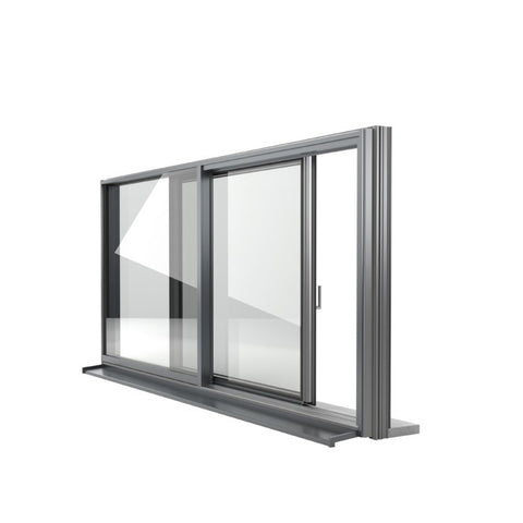 China WDMA Aluminum Profile Sliding Window