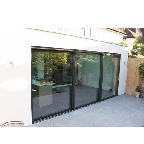 China WDMA Hurricane Proof Sliding Glass Door