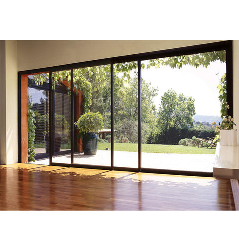 China WDMA large aluminium sliding door Aluminum Sliding Doors