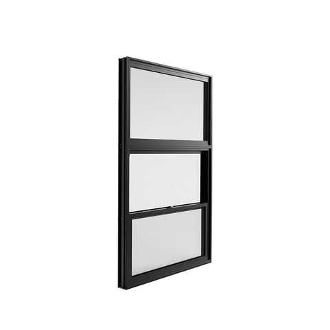 China WDMA window with built in blinds Aluminum double single hung Window