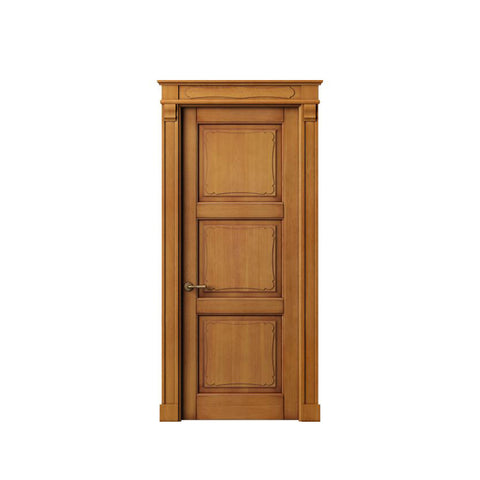 WDMA Latest Design Wooden Door Interior Wooden Room Door from China