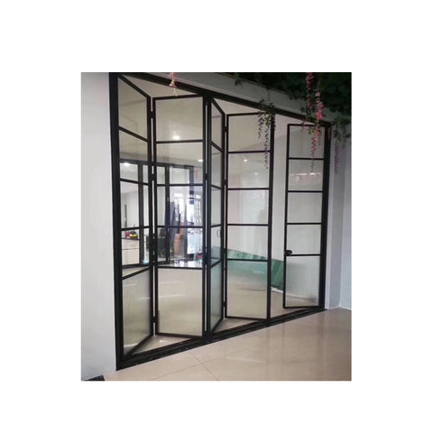 WDMA Latest Designs Inteerior Sliding Folding Door Philippines Price For Toilet Use