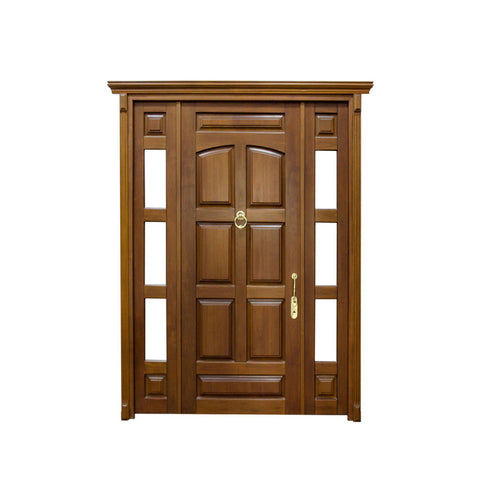 WDMA Luxury Doors Solid Wood Main Entrance Wooden Doors Designs