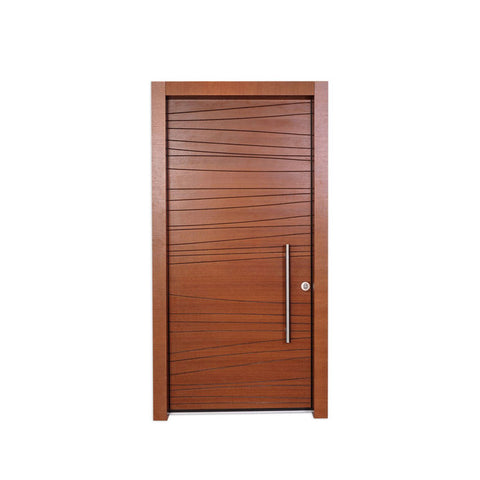 WDMA Luxury Interior Accordion Doors Solid Wood