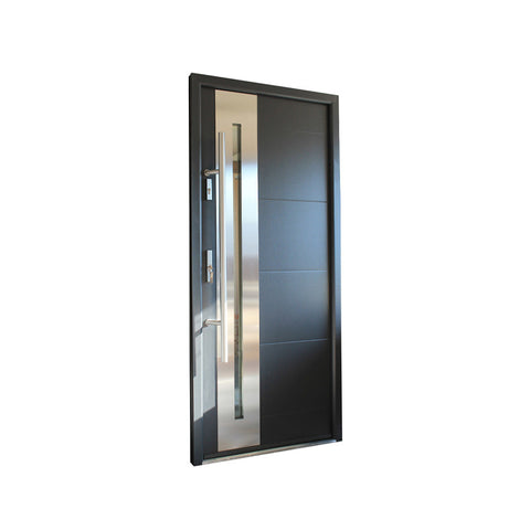 WDMA Main Door Designs Iron Double Front Entry Door Steel Modern Door Design