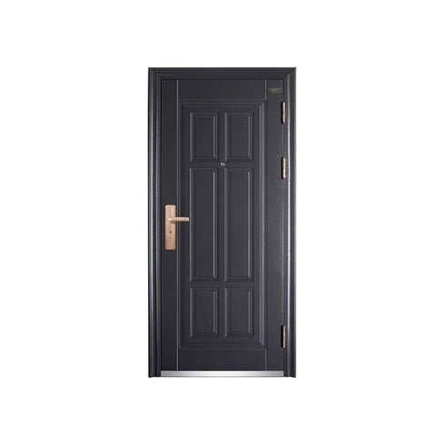 China WDMA Iron Double Door