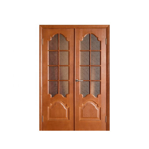China WDMA Semi Solid Wooden Door
