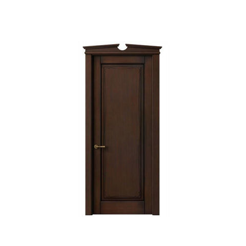 China WDMA MDF flush solid wood door Wooden doors