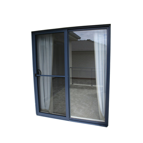 WDMA Miami Dade Code Standards Waterproof Hurricane Impact Aluminium Alloy Exterior Sliding Glass Doors Prices