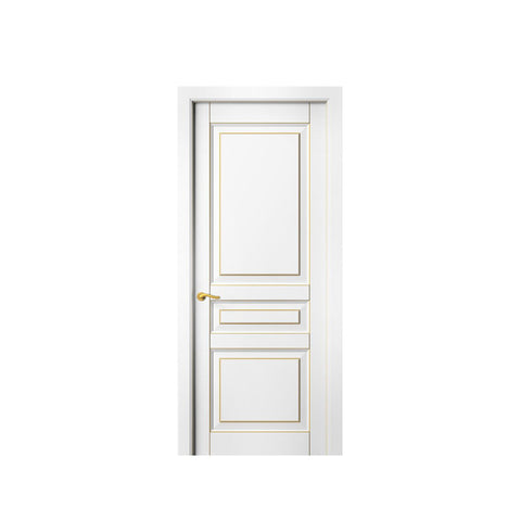 China WDMA round top wood door Wooden doors