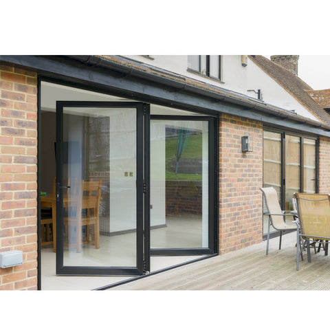 China WDMA Aluminium Folding Doors