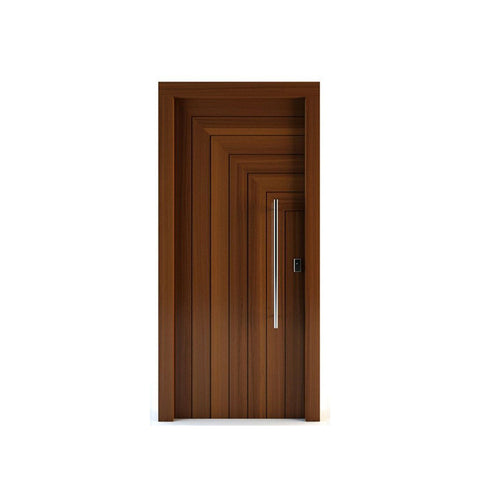 China WDMA 24 x 80 exterior door Wooden doors