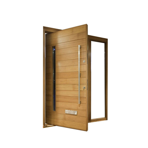 China WDMA pivot entry doors Wooden doors
