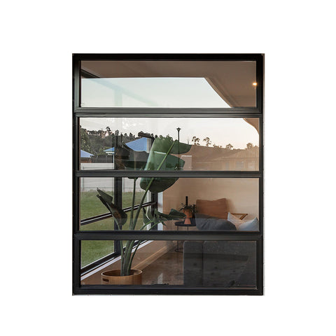 China WDMA double glazed awning window Aluminum Awning Window