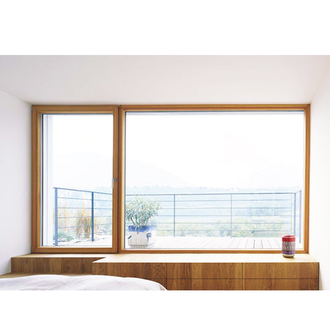 WDMA New Products Toughened Glass Aluminium Round Window Half Round Windows Casement Alu Wood Windows