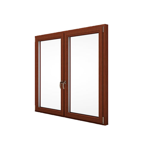 China WDMA alu wood windows Aluminum Casement Window