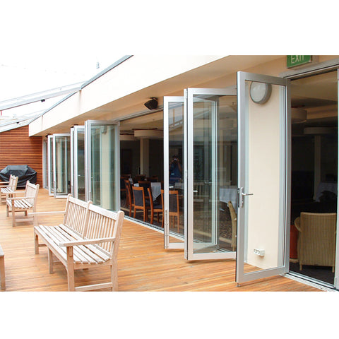 China WDMA aluminium doors Aluminum Folding Doors