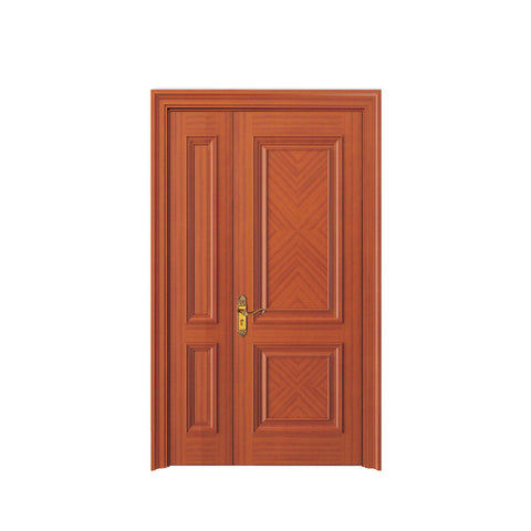 China WDMA wooden door grill design Wooden doors