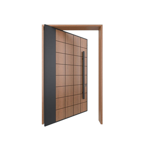 China WDMA Pivot Door Wooden