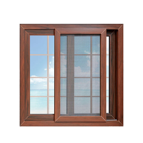 China WDMA powder coating aluminium 3 tracks sliding window Aluminum Sliding Window