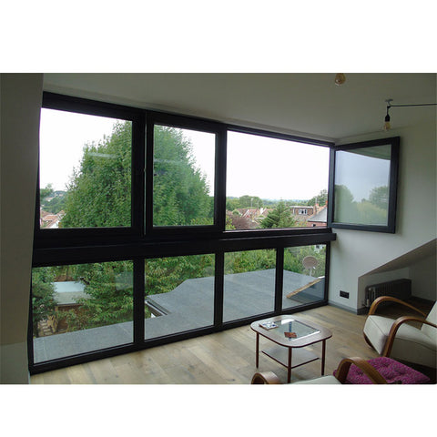 China WDMA bifold window Aluminum Folding Window