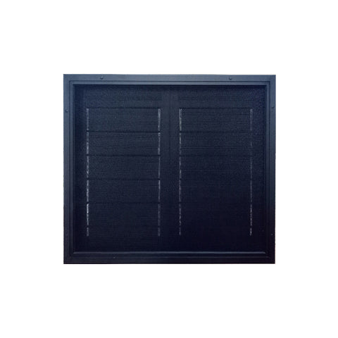 China WDMA Aluminum Louver Window