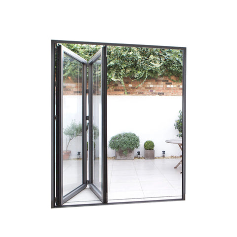 China WDMA aluminum folding doors Aluminum Folding Doors