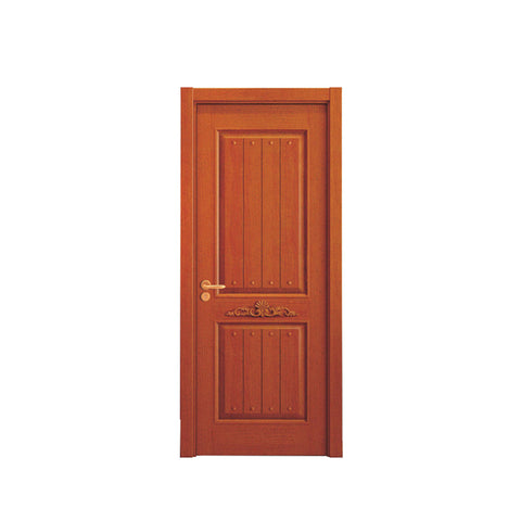 WDMA Qatar Solid Wood Swing Room Door Design from China