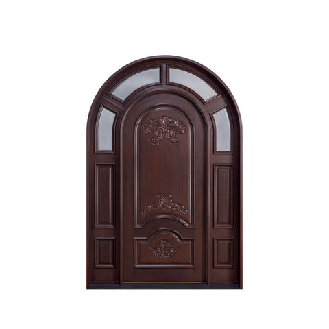 China WDMA qatar solid wood door Wooden doors