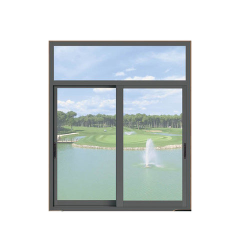 China WDMA sound proof aluminium window Aluminum Sliding Window